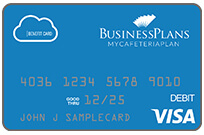 BusinessPlans flex visa card